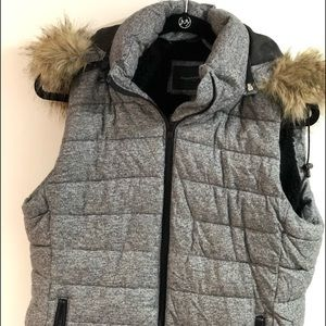 Banana Republic vest with removable hood